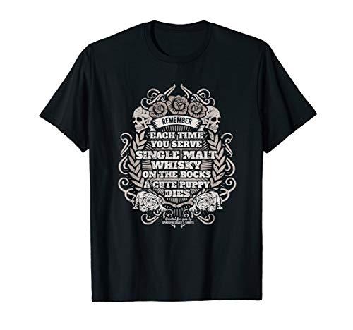 Whiskey T Shirt Single Malt Whisky (Cask Single Malt)