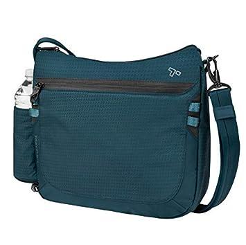 Amazon.com  Travelon Anti-Theft Active Medium Crossbody Messenger Bag  Port  One 1d6c74e42595f