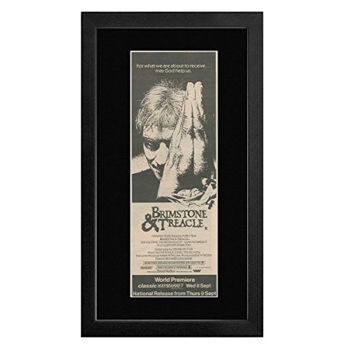 NME Brimstone & Treacle - Music By The Police Sting & The Go-gos Framed Mini Poster - 55x27.5cm
