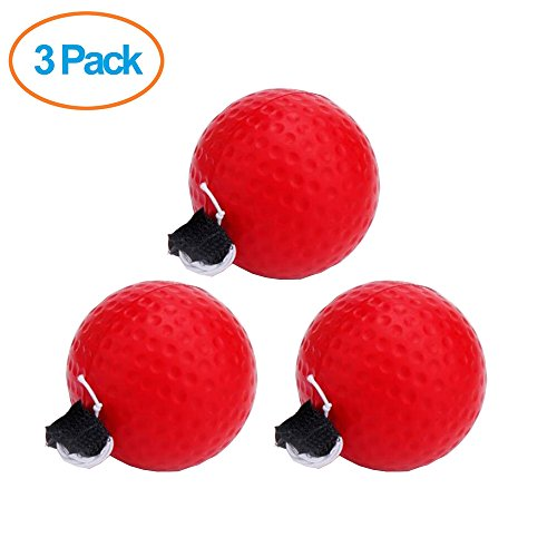 EXPLOMAX 3 Pack DIY Boxing Reflex Ball for Fight