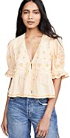 Free People Women's Tallulah Embroidered Top