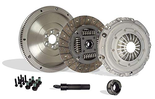 (Clutch And Flywheel Conversion Kit Works With Vw Beetle Jetta Rabbit TDI 2.5 Wolfsburg Value Edition Gl Gls S Se Sport Hot Wheels 2005-2010)