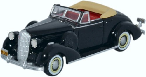 Oxford Diecast 87BS36001 Buick Special Convertible Coupe 1936 1:87 Scale ()