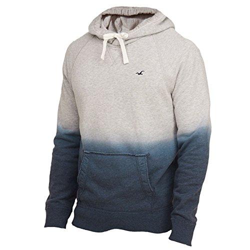Hollister Mens Feel Good Full Zip Fleece Hoodie  Xl  Navy Ombre