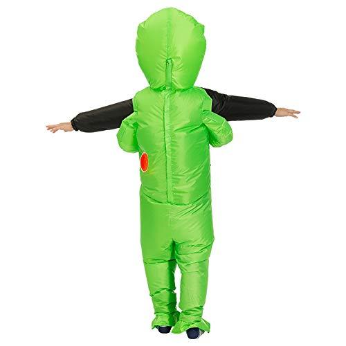 CerisiaAnn Disfraz Inflable de Alien, Disfraz Humano de ...