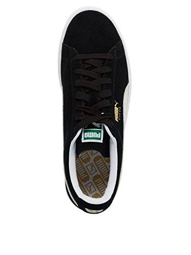 Classic Plus Mode Puma Noir Mixte Adulte Suede Baskets STw7gq