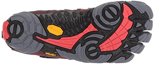 V Fivefingers Gris Black Train Vibram Red Black Deporte Grey Red Grey de para Zapatillas Hombre STBWwqFRW