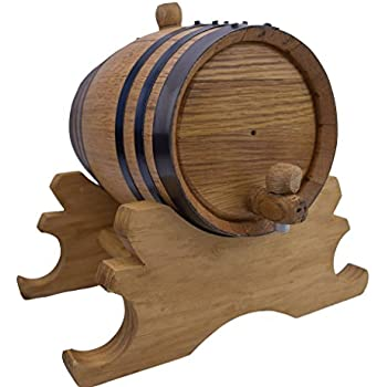 American Oak Barrel | Age your own Tequila, Whiskey, Rum, Bourbon, Wine - 2 Liter or .53 Gallons