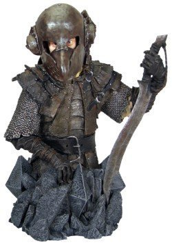the lord of the rings frodo in orc armor collectible mini bust by gentle giant