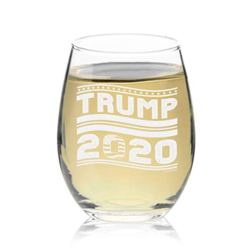 Veracco Trump 2020 Stemless Wine Glass