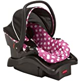 Light 'N Comfy Luxe Infant Car Seat- Minnie Dot