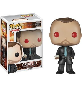 Funko Supernatural POP! Television Crowley Exclusive Vinyl Figure #200 [Red Eyes]