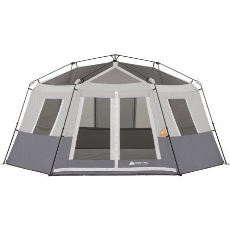 Ozark-Trail-8-Person-Instant-Hexagon-Cabin-Tent-  sc 1 st  Discount Tents Nova & Ozark Trail 8-Person Instant Hexagon Cabin Tent with Gear Loft ...