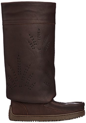 821519043629 - Manitobah Mukluks Women's Tall Gatherer Mukluk Winter Boot, Cocoa, 6 M US carousel main 5