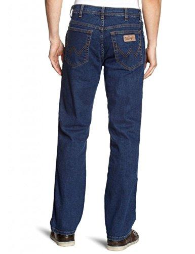 Wrangler darkstone Blu Mild Uomo Texas Blue Stretch Jeans awqAf1Wxar