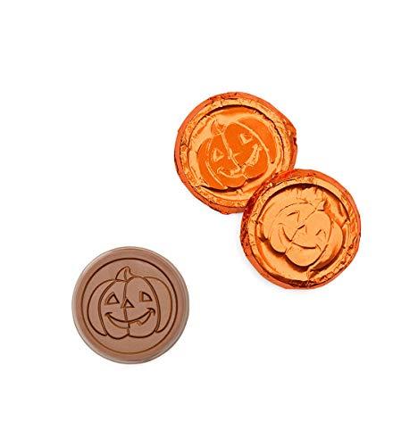 Jack-o-Lantern Orange Foiled Coins Promo Items ()