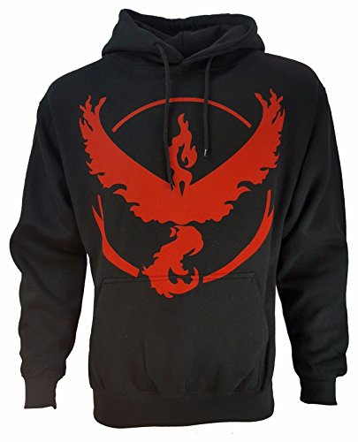 Pokemon Team Mystic Valor Instinct Symbol Hoodie Unisex