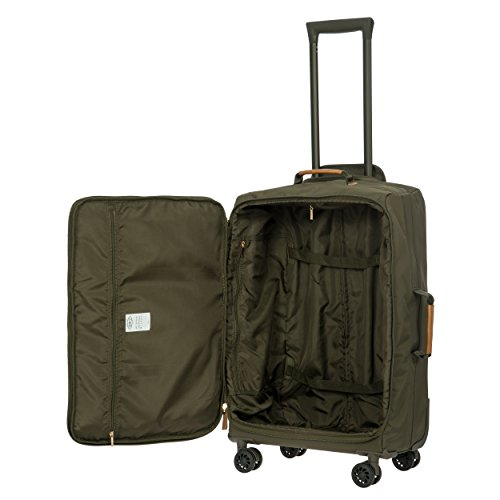 Bric's X-Travel 4 Piece Set | 21'', 25'', Metro Backpack, Travel Pillow (Olive) by Bric's (Image #4)