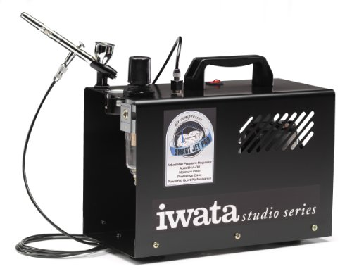 Iwata-Medea Studio Series Smart Jet Pro Single Piston Air Compressor by Iwata-Medea