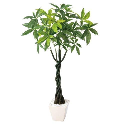 人工樹木 パキラ (H110cm) 1本〈販促品装飾品〉 B00G04SJN0