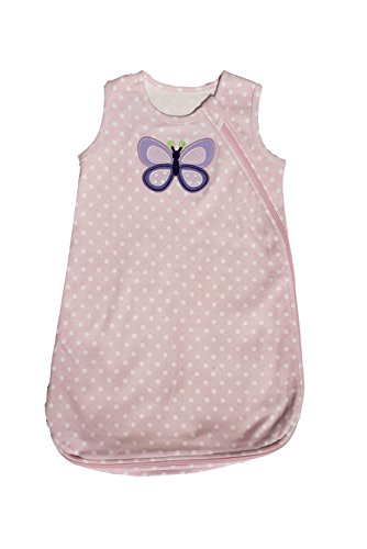 Carter's Wearable Blanket, Pink Butterfly, Medium