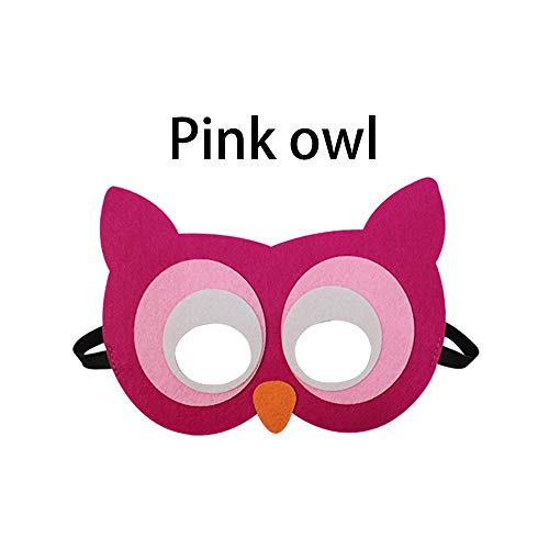 DeemoShop 2014 cm Animal Eyewear Mask Dress up Costume for Children Mask Costume Owl Cosplay Rabbit Educational Toys
