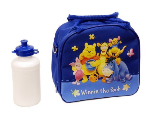 - Disney Winnie the Pooh Lunch Box with Water Bottle