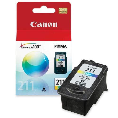 (CL211| Smart Supply Compatible Toner Cartridge | PIXMA MP240 STD Cap Color Ink)