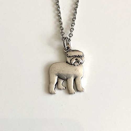Top trend Old English Sheep Dog Necklace - Breed Jewelry Gift for Lover