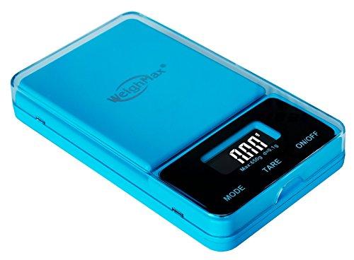 (Weighmax NJ650-Blue Dream Series Digital Pocket Scale, 650 by 0.1 g, Blue)