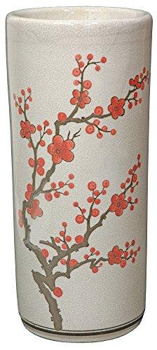 Oriental Furniture Cherry Blossom Umbrella Stand Chinese Umbrella Stand (18