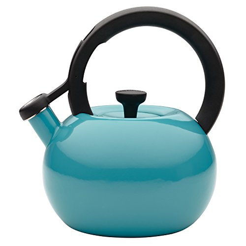 whistling tea kettle turquoise - 5