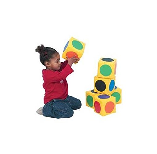 Match The Dot Blocks - Set of 6 by Children's Factory
