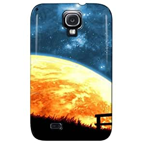 Slim Fit Design For Galaxy S4 Case Cover Navy DtwDMtl0JDo
