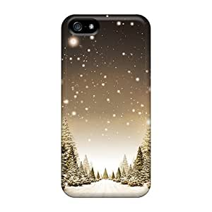 New Style GoldenArea Sepia Snow Premium Tpu Cover Case For Iphone 5/5s
