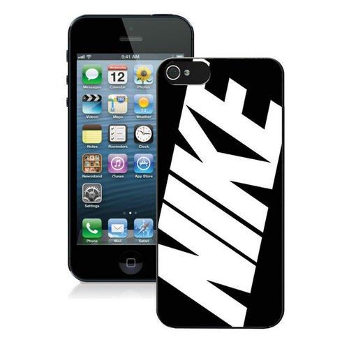 pvmeche Just Do it Nike logo image Custom iphone 5 5S SE TPU Individualized Hard Case black rob style che18011h