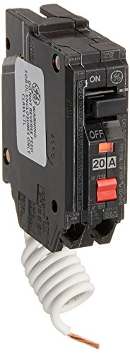 GE Energy Industrial Solutions TV206977 GE 20A SP GFCI Breaker (Single Circuit Pole Breaker Ge)