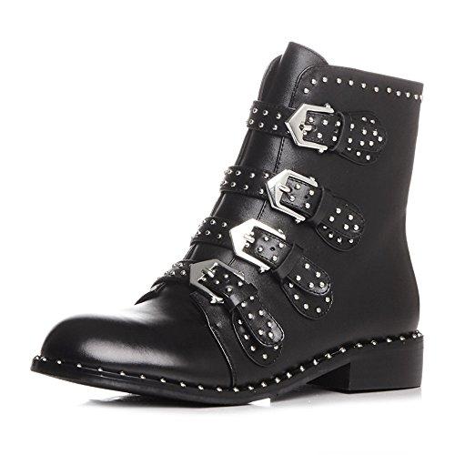 Nine SevenAnkle-boots - Botas mujer black-cow leather
