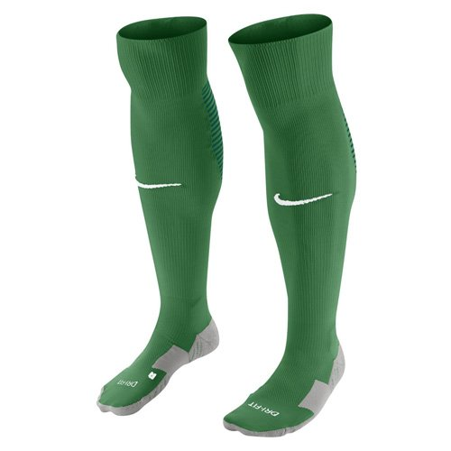NIKE Unisex Team Matchfit Over-The-Calf Football Sock [Pine Green] (L) by Nike
