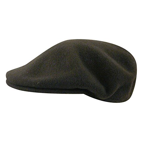 Kangol Men's Classic Wool 504 Cap, Our Most Iconic Shape, Loden (XX-Large) (Green Loden Wool)