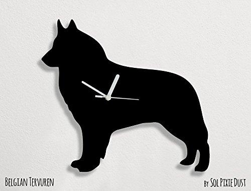 Belgian Tervuren Dog - Wall Clock ()
