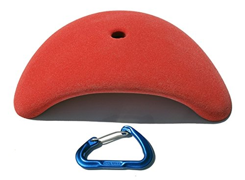 XXL Double Hander (Simple) | Climbing Holds | Red by Atomik Climbing Holds