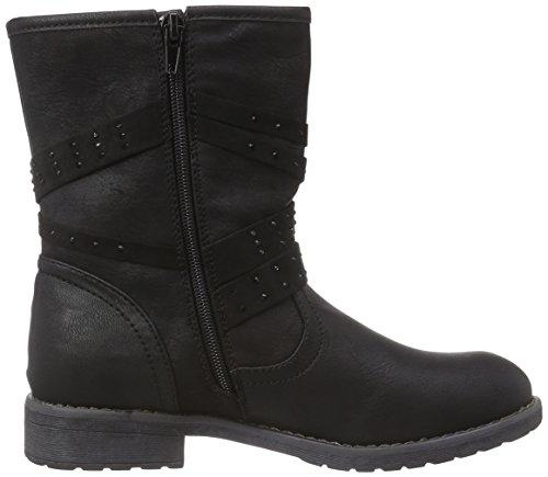 Jane Klain 466 717 Mädchen Biker Boots Schwarz (Black 008)