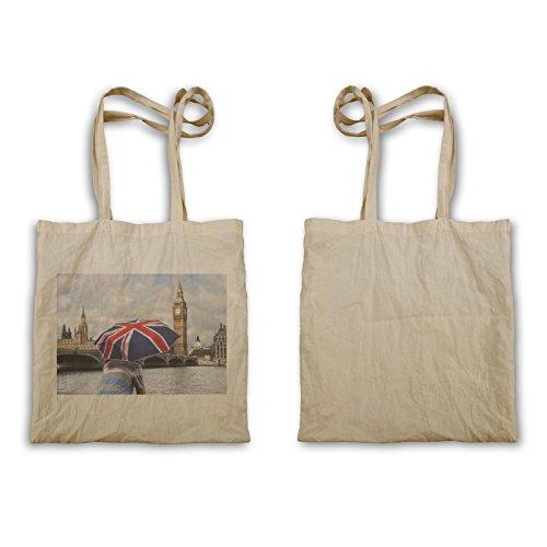 Viaggio Per Il Mondo Londra Big Ben Art New Carry Bag B476r
