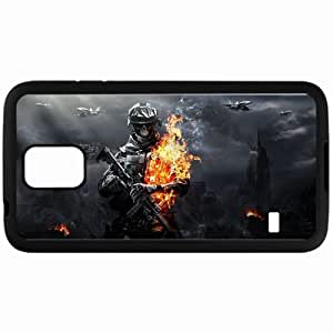 Personalized Samsung S5 Cell phone Case/Cover Skin Battlefield 3 Black