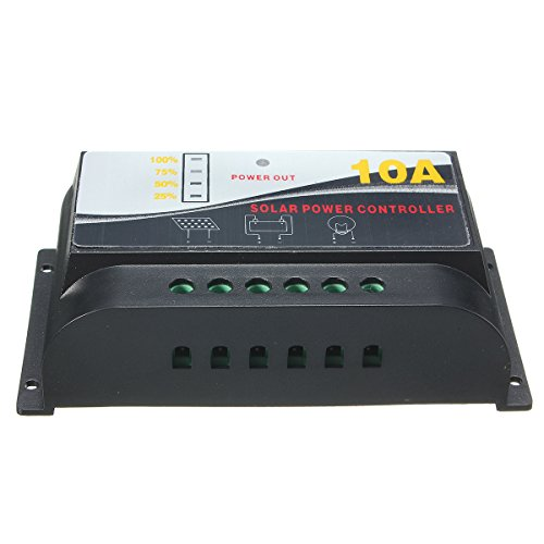 10A 12V Led Pwm Solar Panel Charge Controller Battery Regulator