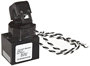 CR Magnetics CR9580-30 Current Sensor, 30 AC, +/-0.5% Accuracy, 50 - 400 Hz Frequency