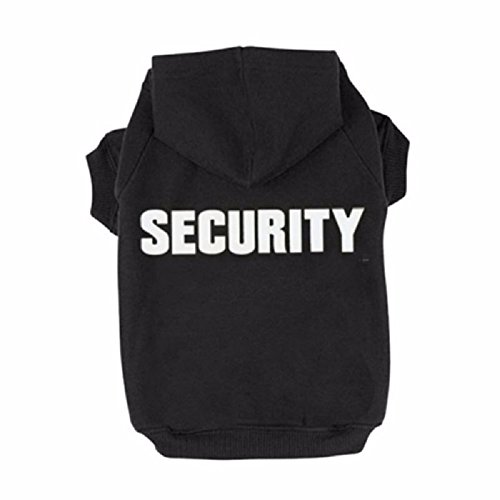 Puppy Dog Cat Pets Appareal Security Sweatshirt Hoodie Clothes Hood Coat Sweater For Winter Warm ...