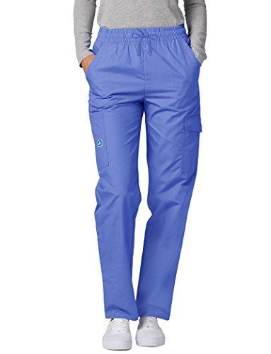 Blu Ospedale Uniforme Medico Pantaloni Camice Adar ceil Blue Da Donna 0aUqxY