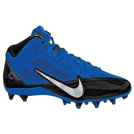 Nike Alpha Pro 3/4 TD Football Cleat Black/Silver/Sport Royal